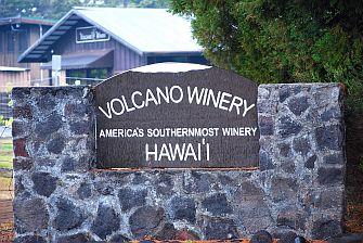 Big Island Hawaii, Volcano Vinery