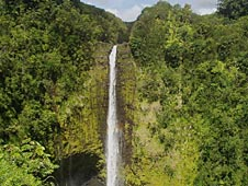 Big Island, Hamakua Coast, Akaka waterfall