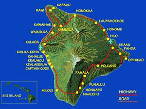 Kohala Hawaii Map.The Kohala Coast Aloha Vacation Cottages