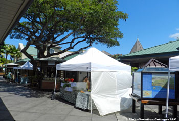 Kings Shops Farmer's Market, Waikoloa, Big Island, Hawaii
