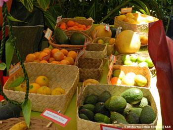 Ho'oulu Community Farmers Market, Kona, Big Island