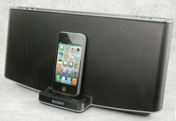 Sony Audio Docking System for iPod, iPhone, and iPad, RDP-X200iP