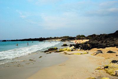 Manini'owali Beach - Kua Bay, near Kona on the Big Island
