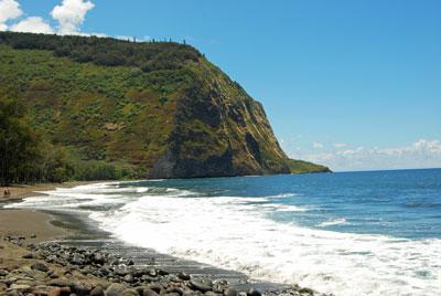 Waipio Beach at Waipia Valley, Big Island