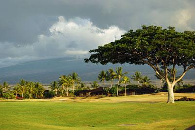 Golf Course at Mana Lani, Big Island, Hawaii