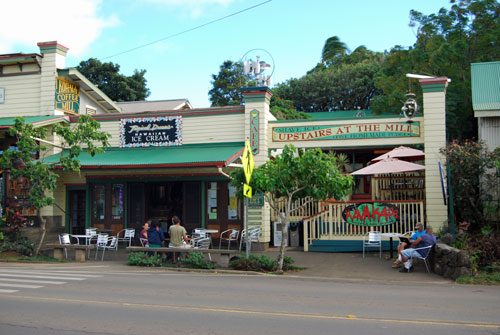 Tropical Dreams ice cream, Hawi, Big Island of Hawaii