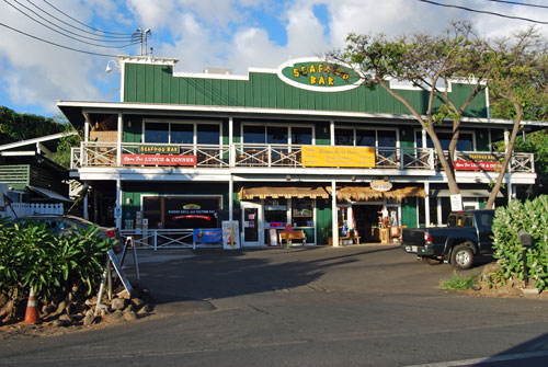 Seafood Bar, Kawaihae, Big Island of Hawaii