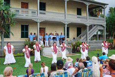 Hulihe'e Palace, Kailua Kona, Big Island, Hawaii