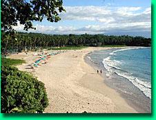 Big Island, Kohala, Coast, Mauna Kea beach with public access