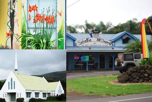 Big Island, Hawaii, Punaluu, South Point