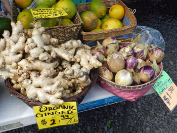 Kona Farmers Market, Big Island, Hawaii