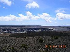 Big Island, Volcanoes National Park, cld crater