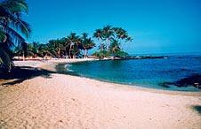 Big Island, Kohala, Coast, Mauna Lani Resort, beach