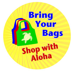 Bring your bags and shop with Aloha