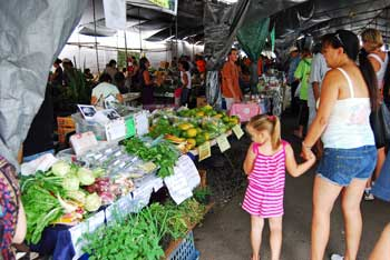 Hilo Farmer's Market, Hawaii