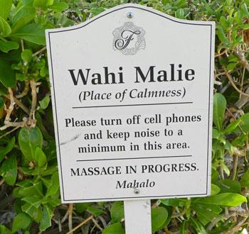 Massage, Big Island, Hawaii
