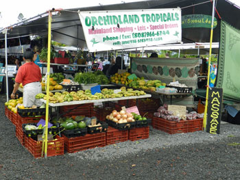 Farmers Market Hilo, Puna, Big Island, Hawaii