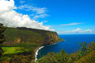 Big Island, Hamakua Coast, Waipio Valley Lookout
