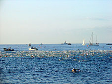 Ironman ocean swim