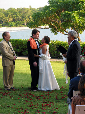 Hawaii weddin - Big Island wedding - Mauna Kea beach